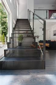 Duplex Stairs Design Modern Railings Custom Stairs Chicago Modern Staircase Design