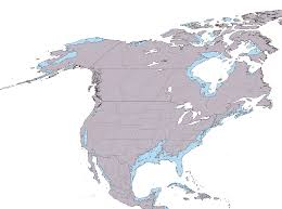 Blank North America Map by America 2050 Publishes Map Of Future Usa Mega Regions American Us