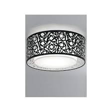 Large Semi Flush Ceiling Lights Black Ceiling Light Teamconnect Co