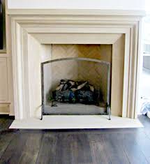 best how to clean limestone fireplace popular home design