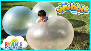 wubble family playtime outside with