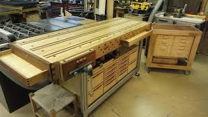 Work Bench With Storage Lean Workbench Storage Kinda By Jl7 Lumberjocks Com