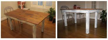 Making A Dining Room Table by Rustic Tables Mission Dining Table Tuscan Dining Room Furniture
