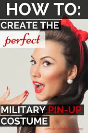 pin up halloween makeup how to create the perfect military pinup costume military pins