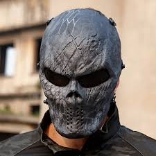 Chiefs Halloween Costumes Aliexpress Buy Creative Skull Mask Wargame Chiefs Tactical