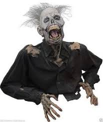 Scary Halloween Decorations That Move by Animated Halloween Prop Scary Moving Spell Book W Revolving