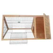 a frame rabbit hutch small pet house indoor outdoor bunny house