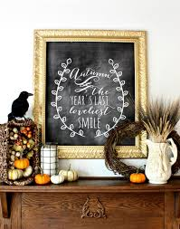 Fall Harvest Decorating Ideas - 35 fall mantel decorating ideas halloween mantel decorations