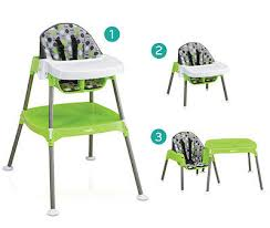 convertible high chair baby feeding table tray stool booster seat