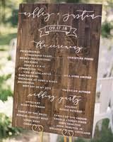 wedding ceremony program ideas 44 wedding ceremony programs martha stewart weddings