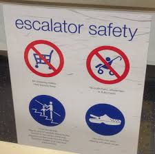 oh god there u0027s now a croc warning on the escalators at marks and