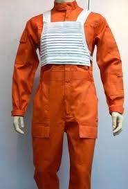 orange jumpsuit x wing rebel fighter pilot orange jumpsuit white flak vest