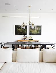Dining Room Modern Chandeliers Best 25 Black Dining Tables Ideas On Pinterest Black Dining