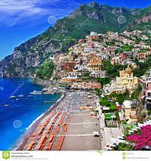 Positano Italy Map by Scenic Italy Positano Stock Images Image 34077974