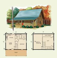 small cabin floorplans homey inspiration cottage floor plans with a loft 1 small cabin