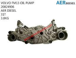 trak volvo volvo fm13 oil pump 20824906 ajm auto continental corp sdn bhd a