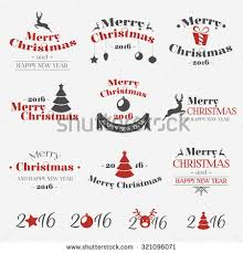 christmas winter stickers set labels tags stock vector 726655168