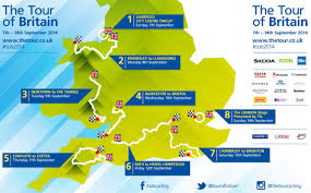 Tour De France Route Map by Tour Of Britain 2014 Route Announced Stage By Stage