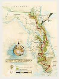 Palm Beach Map Florida Wildlife Corridor Palm Beach Zoo