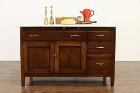 oak kitchen cabinet base farmhouse antique oak kitchen pantry cabinet base enamel top 36805