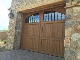 Garage Tech Wood Garage Doors Scottsdale Az U2013 Door Tech Custom Doors