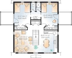 Detached Garage Apartment Plans 92 Best House Plans Images On Pinterest Small House Plans