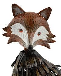 fox garden ornament gardenbird