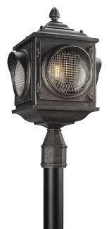 led l post light troy lighting pl4505 main street 24 25 tall 1 light led outdoor
