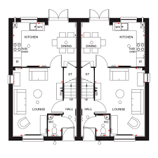 white house floor plan west wing 3 bed semi detached house for sale in