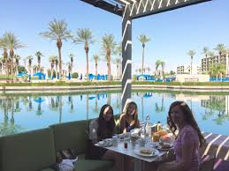 Palm Springs Buffet by Jw Marriott Palm Desert Eating Breakfast At Rockwood Grill By The