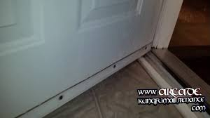 How To Stop Water From Leaking Into Basement by Front Door Leaking Water Every Time That It Rains Home Repair