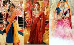 Drape A Sari Half Saree Styles 7 Ways To Wear Half Saree With Lehenga
