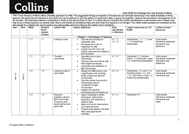 aqa biology year 2 scheme of work by collins issuu