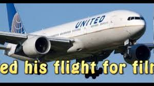 united passenger claims trip was canceled for filming dispute
