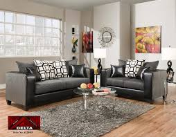 delta sofa and loveseat delta 4120 13s 4120 13l sofa and loveseat dempsey graphite surge