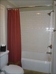 Red White Shower Curtain Interior Pretty Red And White Shower Curtain To Beautify Your
