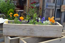 wooden planter boxes glasgow wood recycling