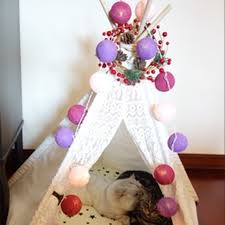 Baby Pink Christmas Decorations Cotton Ball String Light Picture More Detailed Picture About New