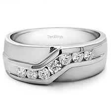two tone men s wedding bands groom wedding rings shop the best