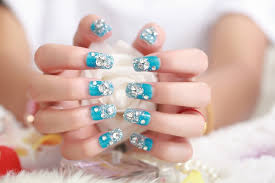 wholesale 3d false nails bride manicure fake nails orb patch