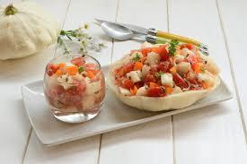 cuisiner les patissons pâtisson en salade saveurs italiennes au fil du thym