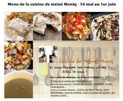 dans la cuisine menus du 26 mai au 1er juin dans la cuisine de mémé moniq cuisine