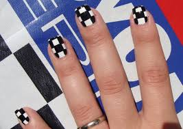 checkered nail designs gallery nail art designs