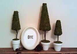 living the teaching life christmas moss trees