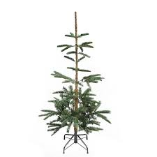 noble christmas tree the aisle noble 4 5 fir layered artificial christmas tree