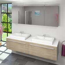 spiegelschr nke f r badezimmer spiegelschrank badspiegel badezimmer spiegel city 200cm eiche hell