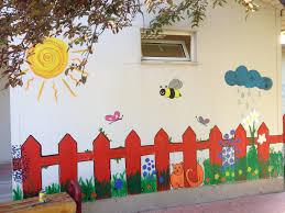 wall painting kindergarten murals pinterest wall paintings