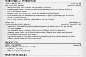 Hotel Front Desk Resume Sample by Front Desk Receptionist Resume Examples Quotes Front Desk Resume