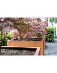 adezz corten steel andes planter eliassen home u0026 garden pleasure