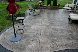 Cost For Flagstone Patio by Stamped Concrete Patio Decorative Concrete Patio